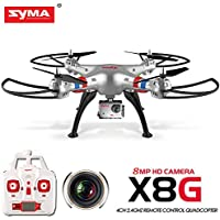 Syma X8G 2.4G 4CH RC Quadcopter With 5MP HD Camera