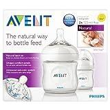 Avent 4oz / 125ml Natural Bottle 2 per pack