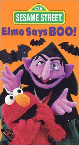 Amazon com: Sesame Street - Elmo Says Boo [VHS]: Jim Henson