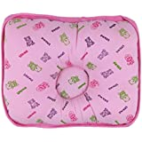 Babysid Collections Soft Baby Pillow - SWEET - Pink - Size : 28 X 22 X 6cm