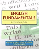 img - for English Fundamentals (16th Edition) (Mywritinglab) book / textbook / text book