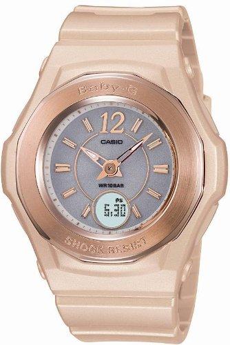 CASIO (カシオ) 腕時計 Baby-G Gold Color Series ゴールドカラーシリーズ タフソーラー電波時計 MULTIBAND 5 マルチバンド 5 BGA-1010-4BJF レディース