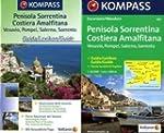 Carte touristique : Penisola Sorrentina