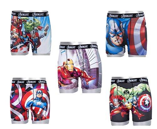 Avengers Ragazzo Boxer 5modeles de la foto - 5 Modeles de la photo 10-12 Anni