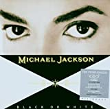 Disco de Michael Jackson - Black Or White (Anverso)