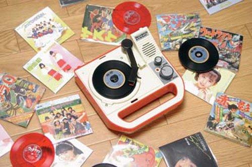 8盤レコード専用ポータブルプレイヤー