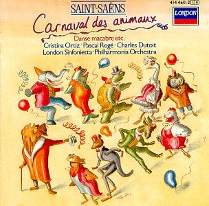 Original album cover of Saint-Saens: Carnival of the Animals / Danse Macabre by Saint-Saens