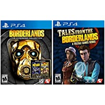 Borderlands: The Handsome Collection Plus Tales From The Borderlands - Complete Playstation 4 Next Gen Borderlands Bundle With DLC C3 Computer Consultants