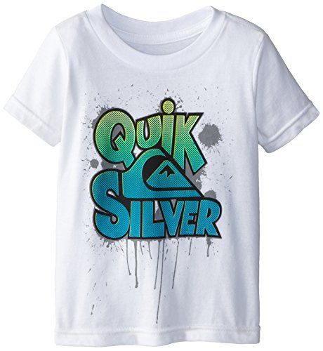Quiksilver Baby-Boys Infant Go Crazy Tee White, White, 24 Months front-219287