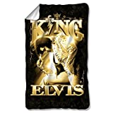 TCB - The King -- Elvis Presley -- Fleece Throw Blanket