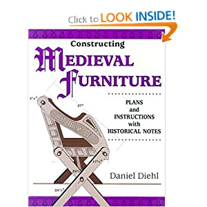 Constructing Medieval Furniture - Daniel Deihl