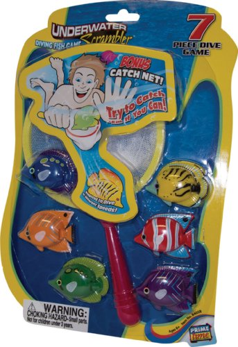 Underwater Scrambler Pool Diving Game from Prime Time Toys (Colors and Styles Vary) - 1