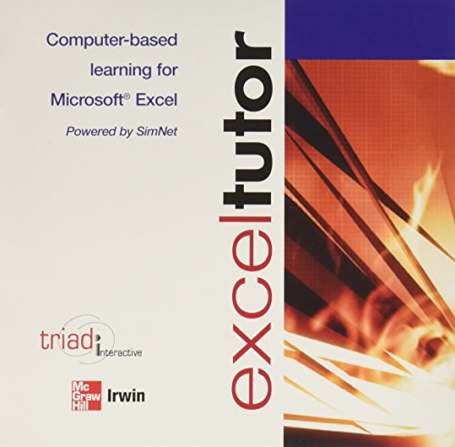 Exceltutor : Computer-Based Learning (Software)