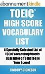 TOEIC High Score Vocabulary List (201...