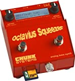 Chunk Systems Octavius Squeezer Analog Bass Synth Pedal, Red