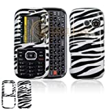Black and White Zebra Animal Skin Design Snap-On Cover Hard Case Cell Phone ....