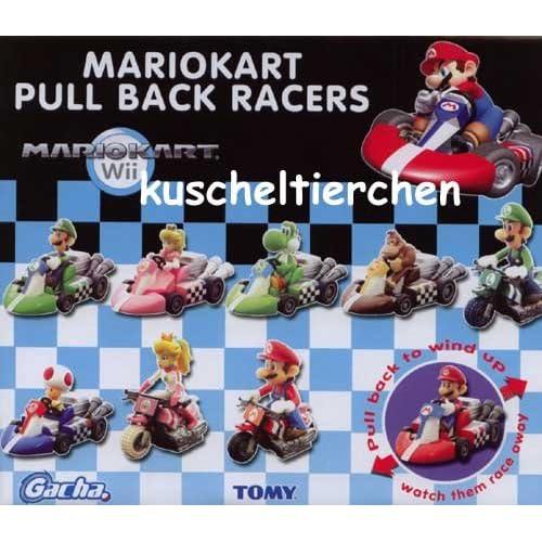 Mario Kart Wii Racers Super Mario Figuren im Auto Tomy