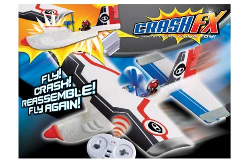 Sales FlyTech Remote Control Airplane Crash FX R/C Plane