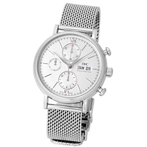 [アイダブリューシー] IWC 腕時計 ポートフィノ クロノグラフ IW3910095 SS/シルバー メンズ [中古品]