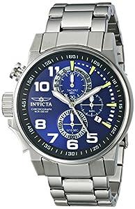 Invicta Men's 14957SYB Force Analog Display Japanese Quartz Silver Watch