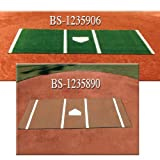 Turf Softball Home Plate-Green 7'x12' , Item Number 1235913, Sold Per EACH by Challenger Industrie