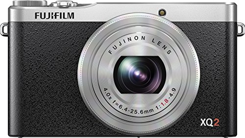 Fujifilm XQ2 Silver Digital Camera with 3-Inch LCD