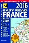 AA Easy Read Atlas France 2016