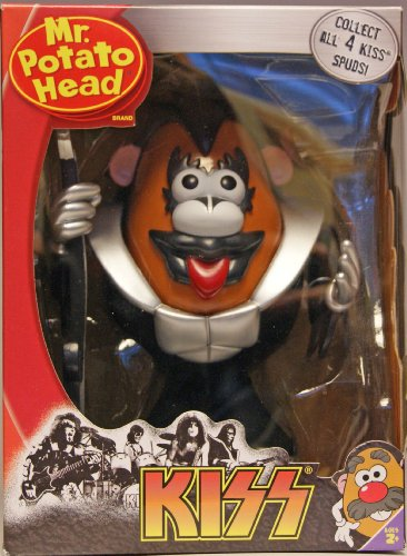 Buy Low Price Promotional Partners Worldwide KISS Gene Simmons Mr Potato Head Figure (B002QTE1B2)