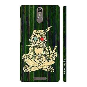 Enthopia Designer Hardshell Case Ganja Baba 3 Back Cover for Gionee Elife S6S