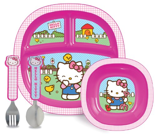 Munchkin Hello Kitty Toddler Dining Set - 1