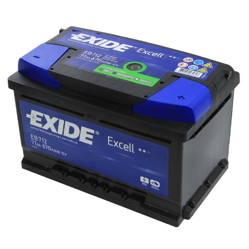 Exide Excell EB712 71Ah Autobatterie wartungsfrei