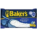 Baker's Angel Flake Coconut, 14-Ounce Bags (Pack of 6)