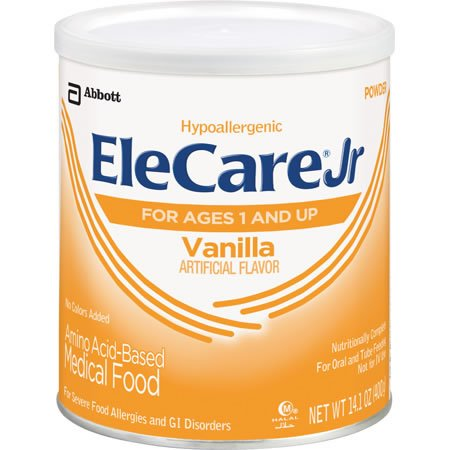 ELECARE Jr For ages 1 and Up Powder Vanilla ~ 1 case