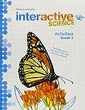 Pearson Home Interactive Science Activities, Grade 3