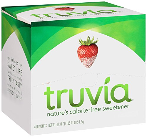 Truvia Natural Sweetener, 0.105 Ounce (Pack Of 400)