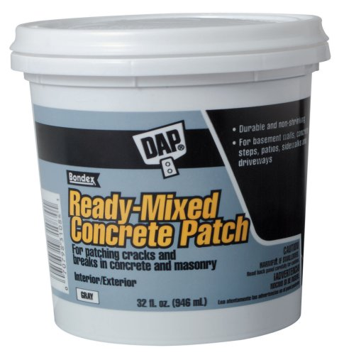 Dap 31084 Concrete Patch Interior and Exterior, 1-Quart at Amazon.com