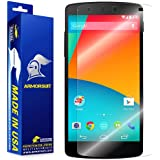 ArmorSuit MilitaryShield - Google Nexus 5 Screen Protector Anti-Bubble Ultra HD - Extreme Clarity & Touch Responsive Shield with Lifetime Free Replacements - Retail Packaging