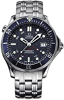"Omega Men's 2535.80.00 Seamaster 300M GMT ""James Bond"" Automatic Chronometer Watch by Omega"
