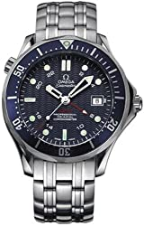 "Omega Men's 2535.80.00 Seamaster 300M GMT ""James Bond"" Automatic Chronometer Watch"