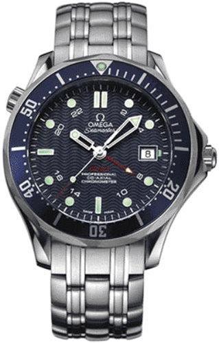"Omega Men's Seamaster GMT ""James Bond"" Automatic Chronometer Watch 2535.80.00 300M"