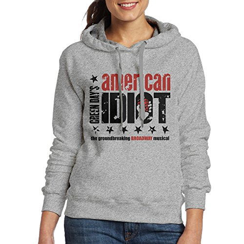 Bekey Women's American Idiot Hoodie Jacket M Ash (100 Bullets Complete compare prices)
