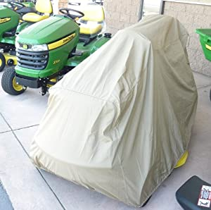 "Larger riding Lawn Mower / Zero Turn Mower / Tractor Cover - 100""Lx48""Wx45""H from bondvast"