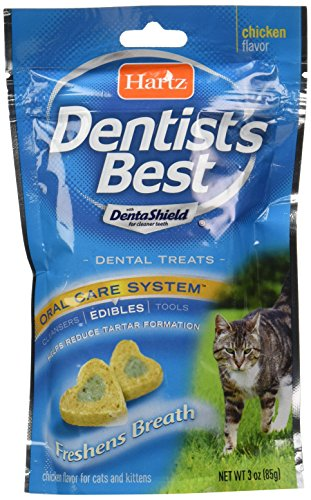 Hartz Dentist's Best Dental Treat for Cats