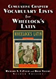 img - for Cumulative Chapter Vocabulary Lists for Wheelock's Latin 2nd Ed. book / textbook / text book