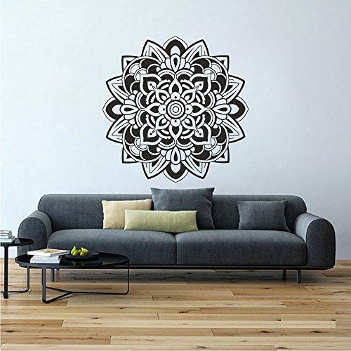 mandala-da-parete-in-vinile-decalcomanie-yoga-fiore-di-loto-namaste-mandala-wall-art-camera-da-letto