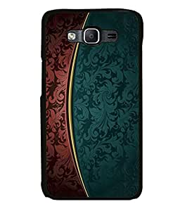 printtech Art Pattern Floral Back Case Cover for Samsung Galaxy On5 Pro