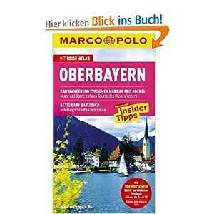 eBook Cover für  MARCO POLO Reisef uuml hrer Oberbayern Reisen mit Insider Tipps