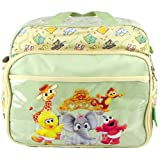 Sesame Street Animal Zoo Large Shoulder Baby Diaper Bag with Changing Pad ~ Sesame Street