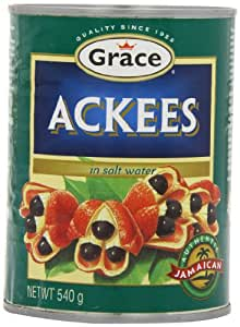 Grace Ackees 540 g (Pack of 12)