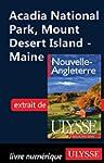 Acadia National Park, Mount Desert Is...